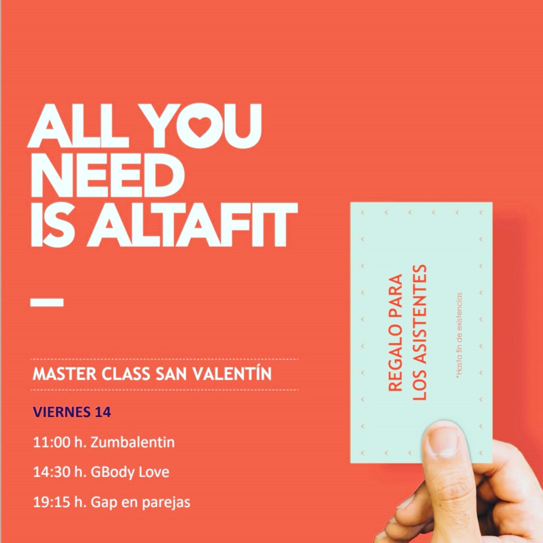 ALL YOU NEED IS ALTAFIT